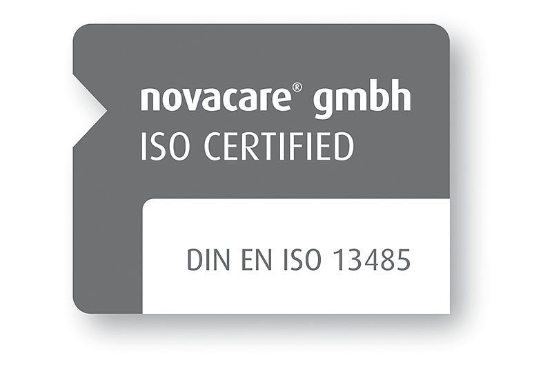 Logo Novacare GmbH – ISO Certified
